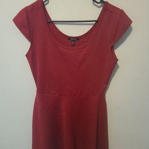Bebop size Medium red dress